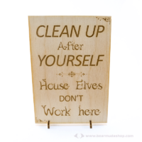 Harry Potter témájú álló vagy fali dekor Clean Up