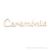 Ceremónia akasztható és lógatható felirat