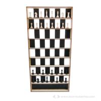 Vertikális sakk készlet