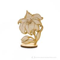 Gravírozott Álló virág