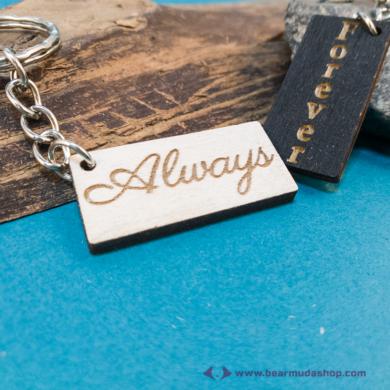 Always, Forever páros kulcstartó