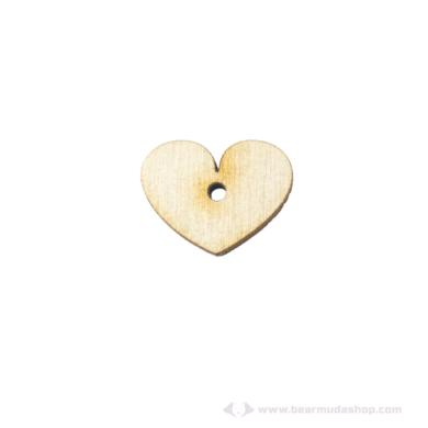 Fa szív kicsi ékszer alapok