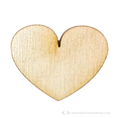 Fa nagy szív tábla alapok