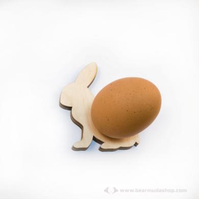 Nyúl tojástartó, több színben