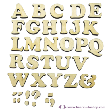 Fa Betű Serif 3 cm