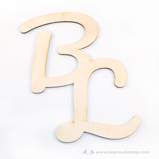 Egyedi monogramok  vendégkönyv