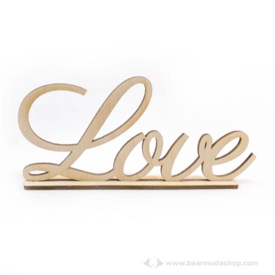 Love álló felirat