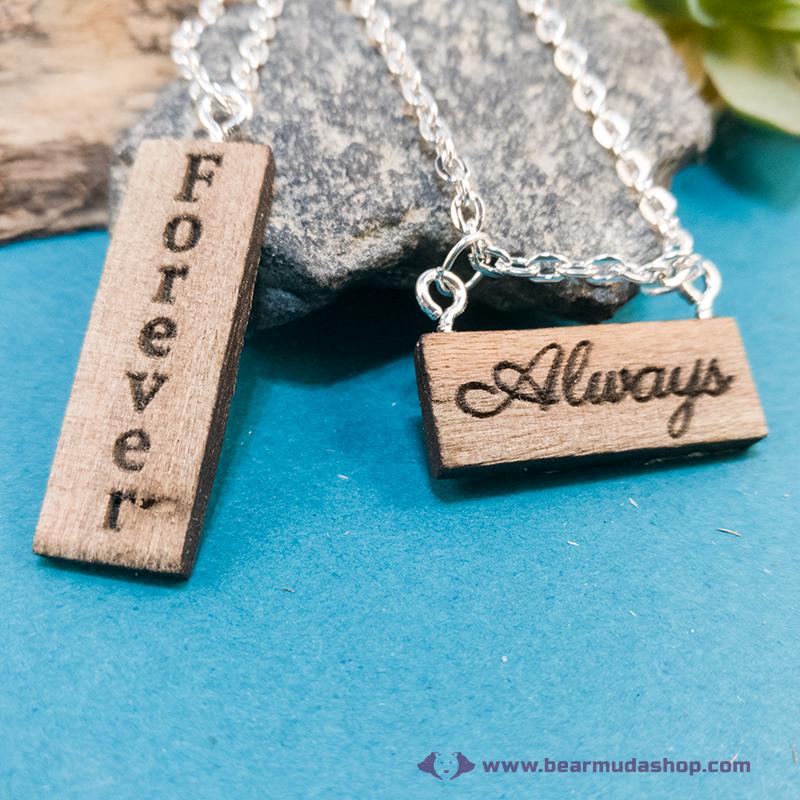Always, Forever páros nyaklánc
