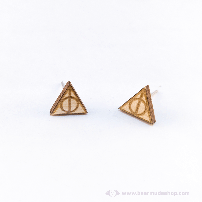 Harry Potter témájú fülbevaló ereklyék, több színben